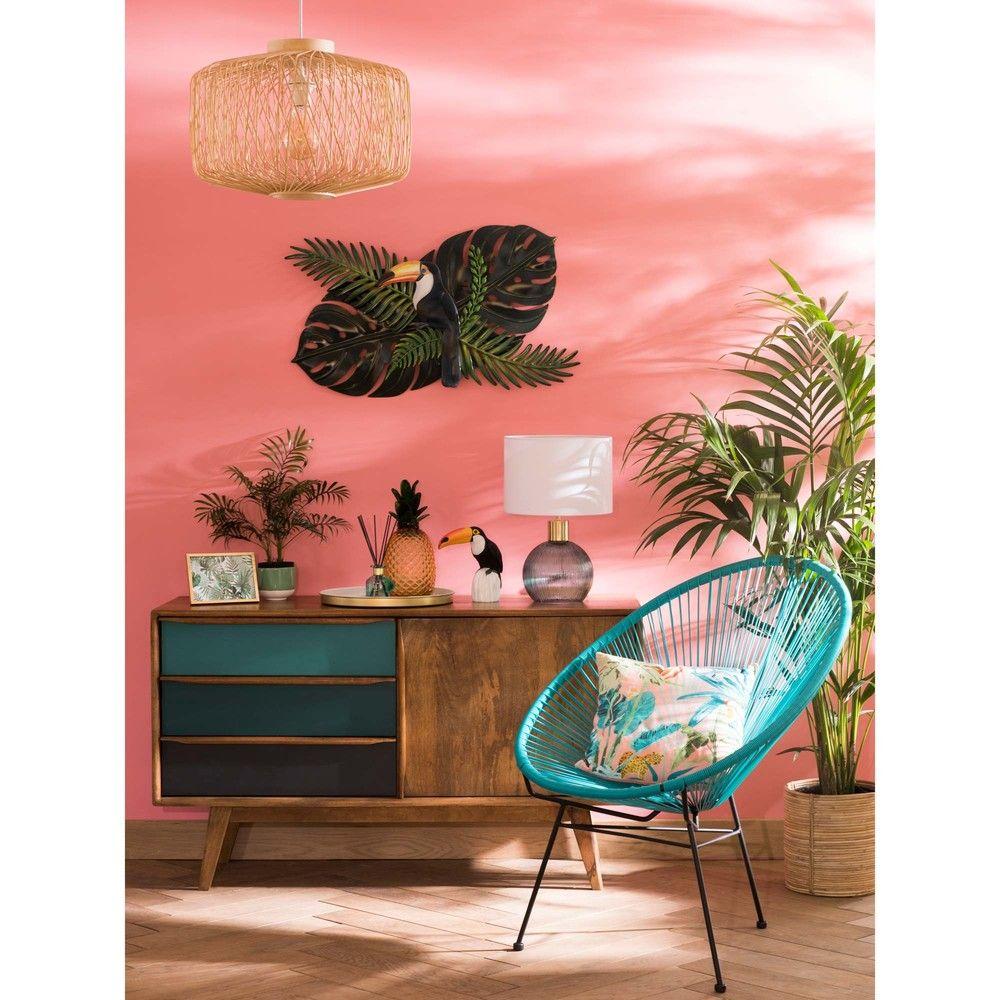 Mango Wood Vintage Blue Sideboard Tropische Decoratie Ideeen Voor Thuisdecoratie Tropische Slaapkamers