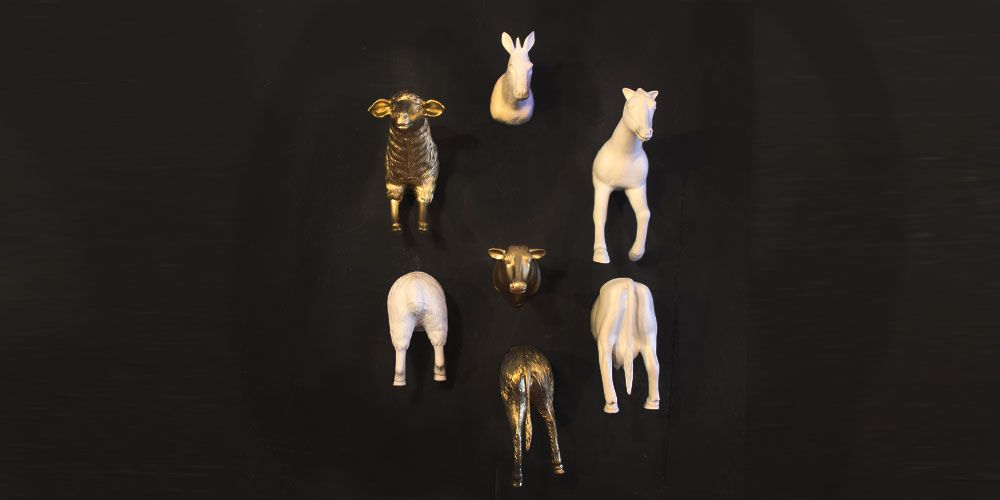 DIY Animal Magnets #diy