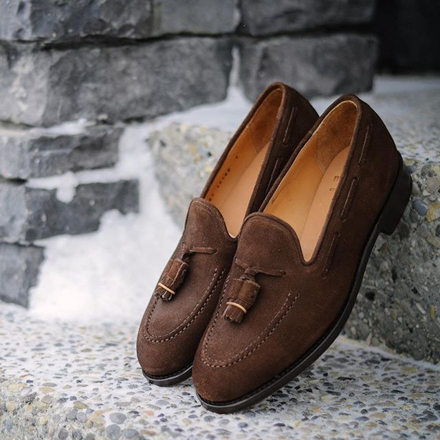 e7976d78785 A shot of the  morjasshoes loafers when they first arrived. I always love  the