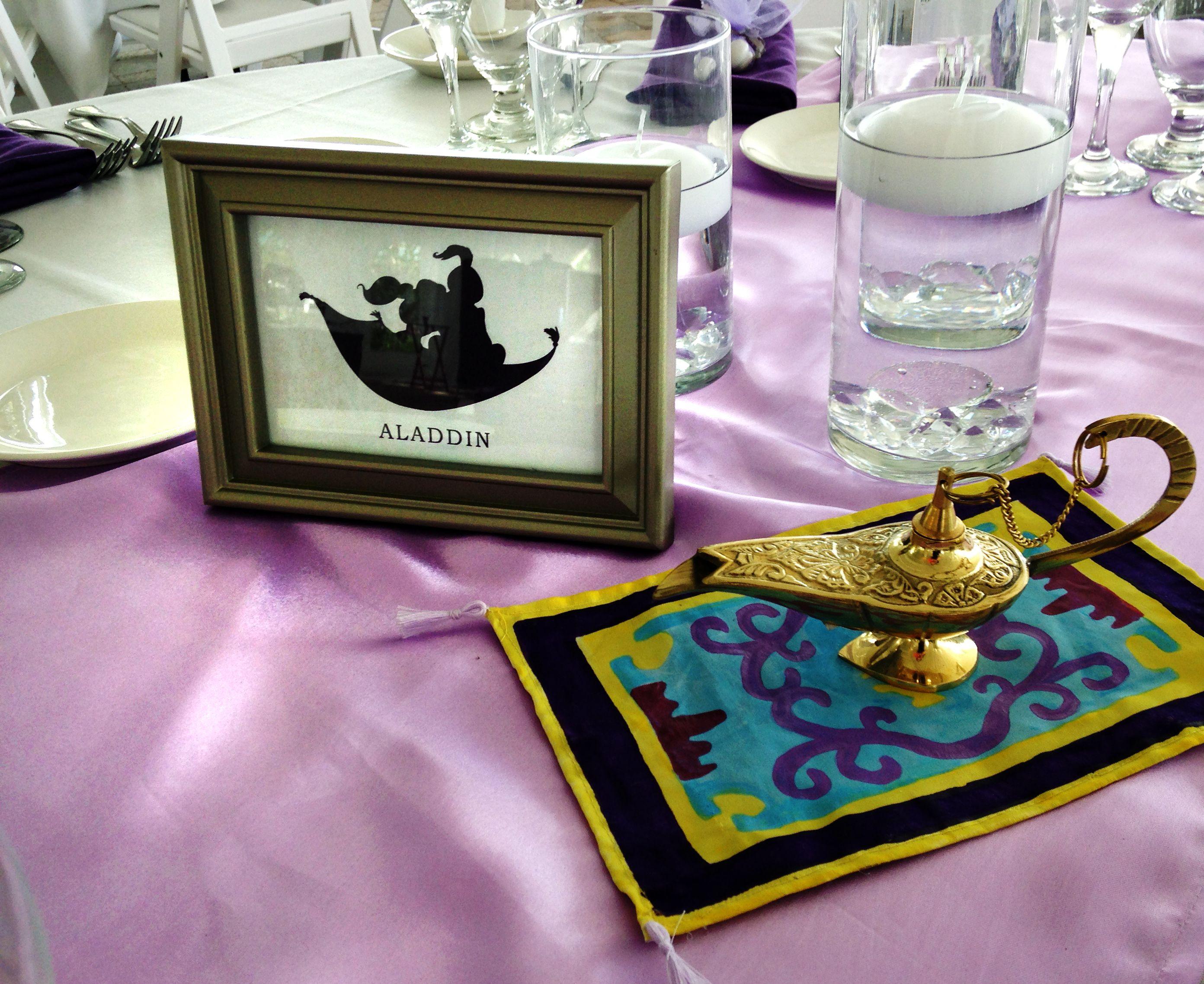 Aladdin Centerpiece   Pauleenanne Design   Disney Chic ...