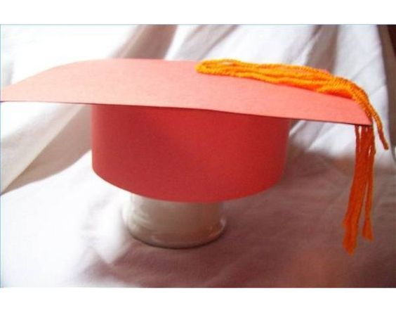how to make graduation caps out of paper pinterest cap