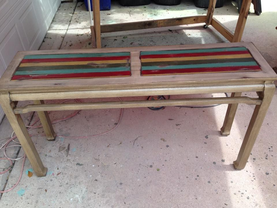 Ever Wondered What To Do With Those Old Sofa Tables With Glass Tops? The  DeStressing