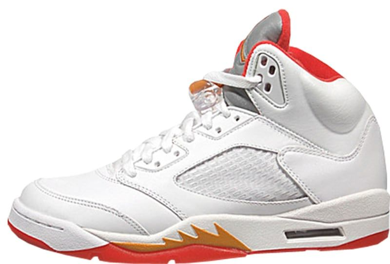 new style 0b24c 079f6 Air Jordan 5 Retro Women s  Sunset  - Air Jordan 5  The Definitive Guide to  Colorways   Sole Collector
