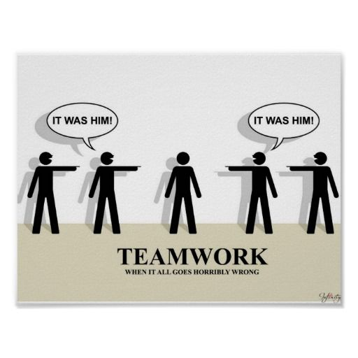Sometimes #teamwork is just not enough to get the job done.