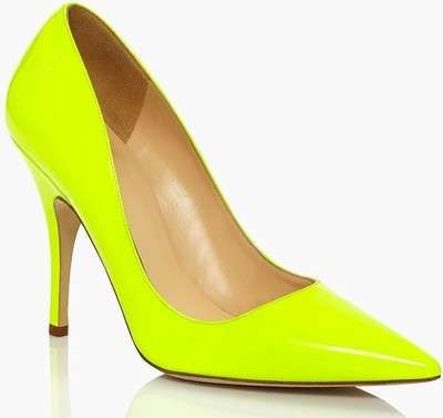 kate spade new york Licorice Patent Heel / Wantering