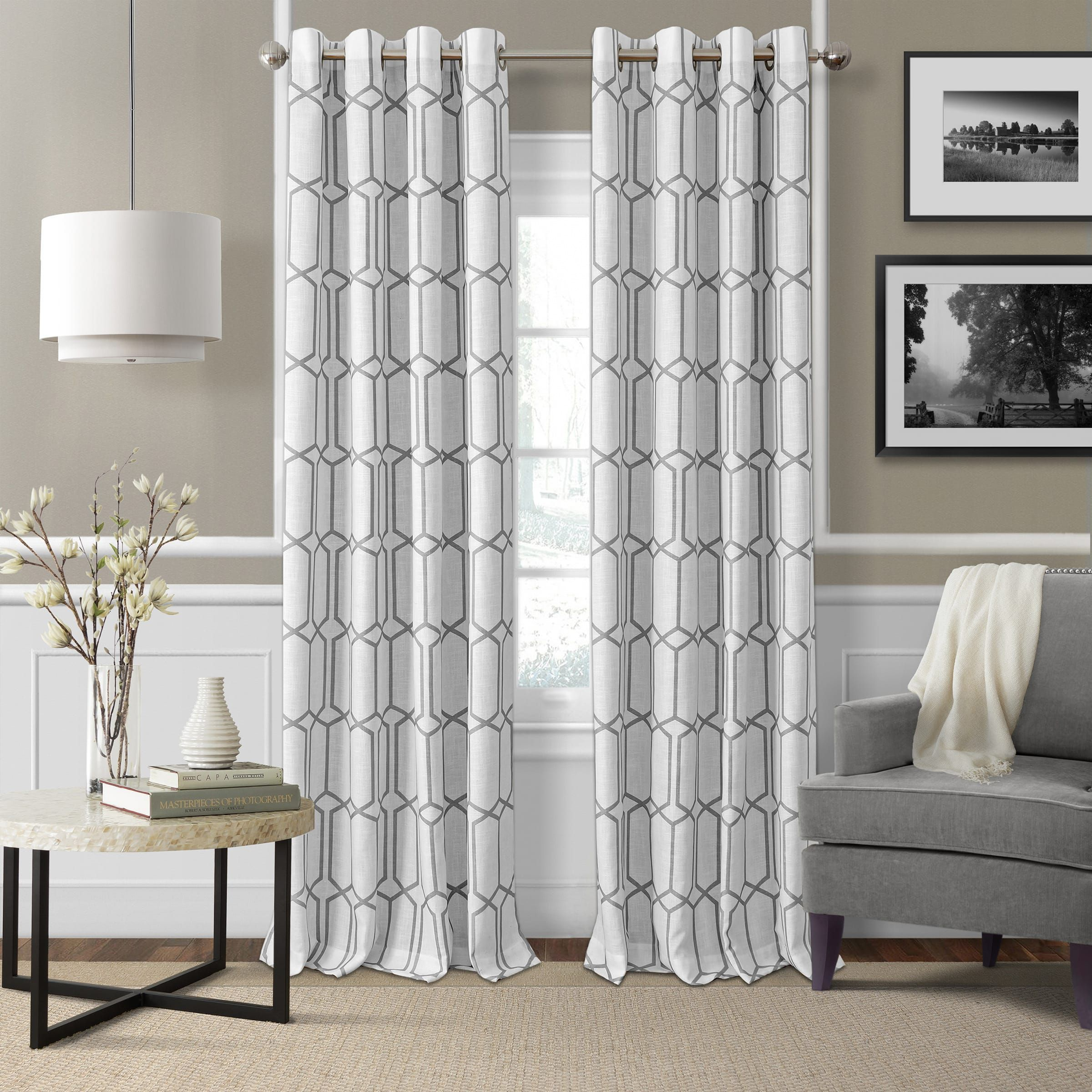 Elrene kaiden blackout curtain panel products pinterest products