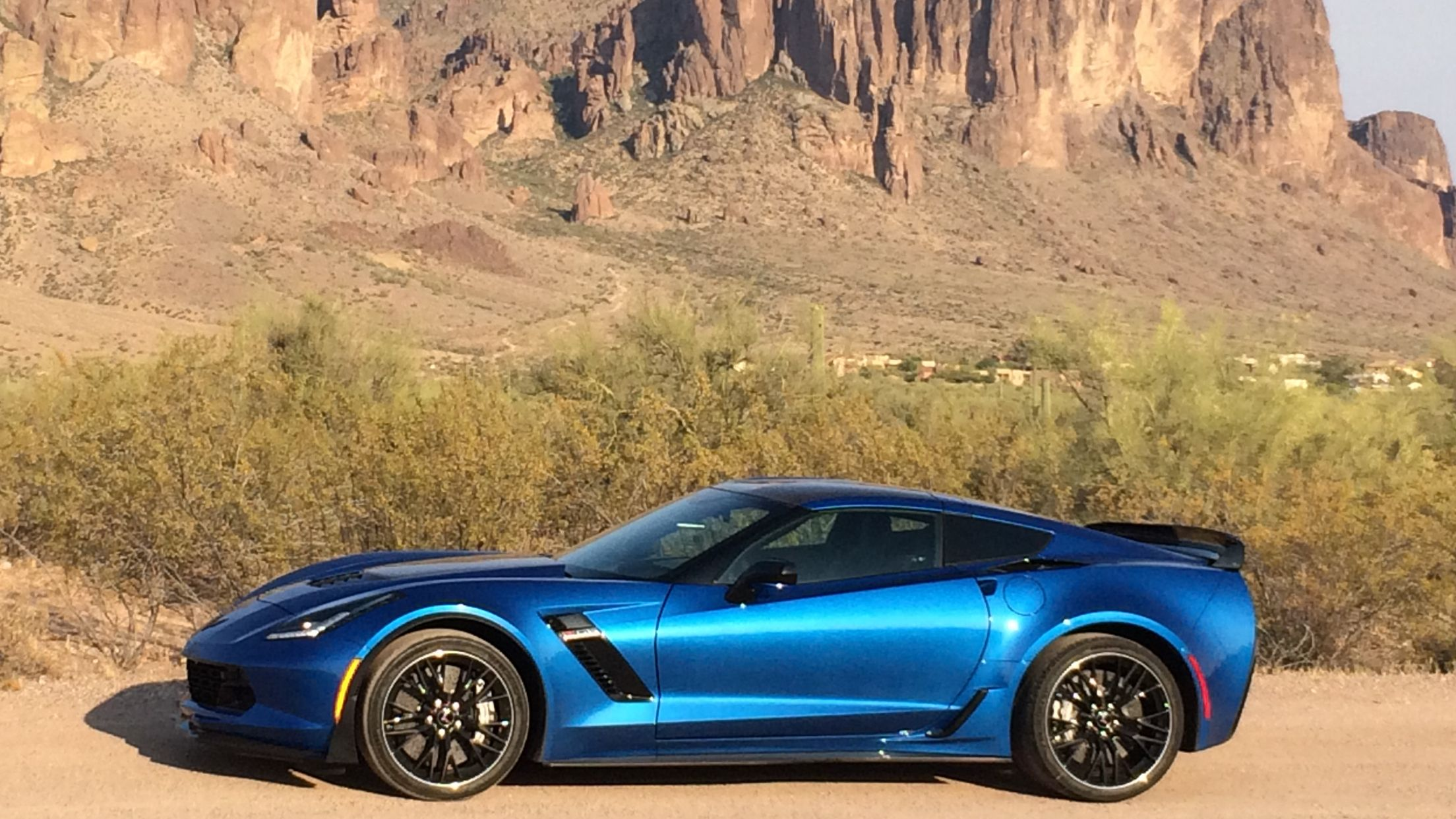 Laguna Blue 2016 Corvette C7 Z06 8 Speed Automatic A Gift From My