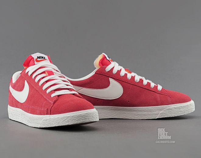Nike Blazer Faible Prm Cuir Daim Vntg vente bonne vente réduction confortable réduction commercialisable Nice jeu réduction ebay SMe9WQ