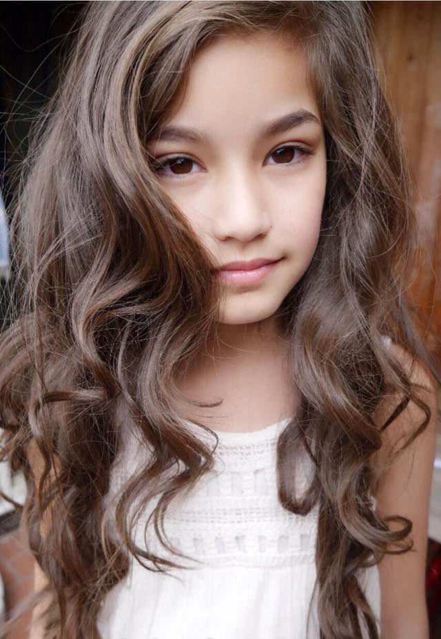 Natascha Aisawanso Gorgeous  Faces  Long Hair Styles -6574