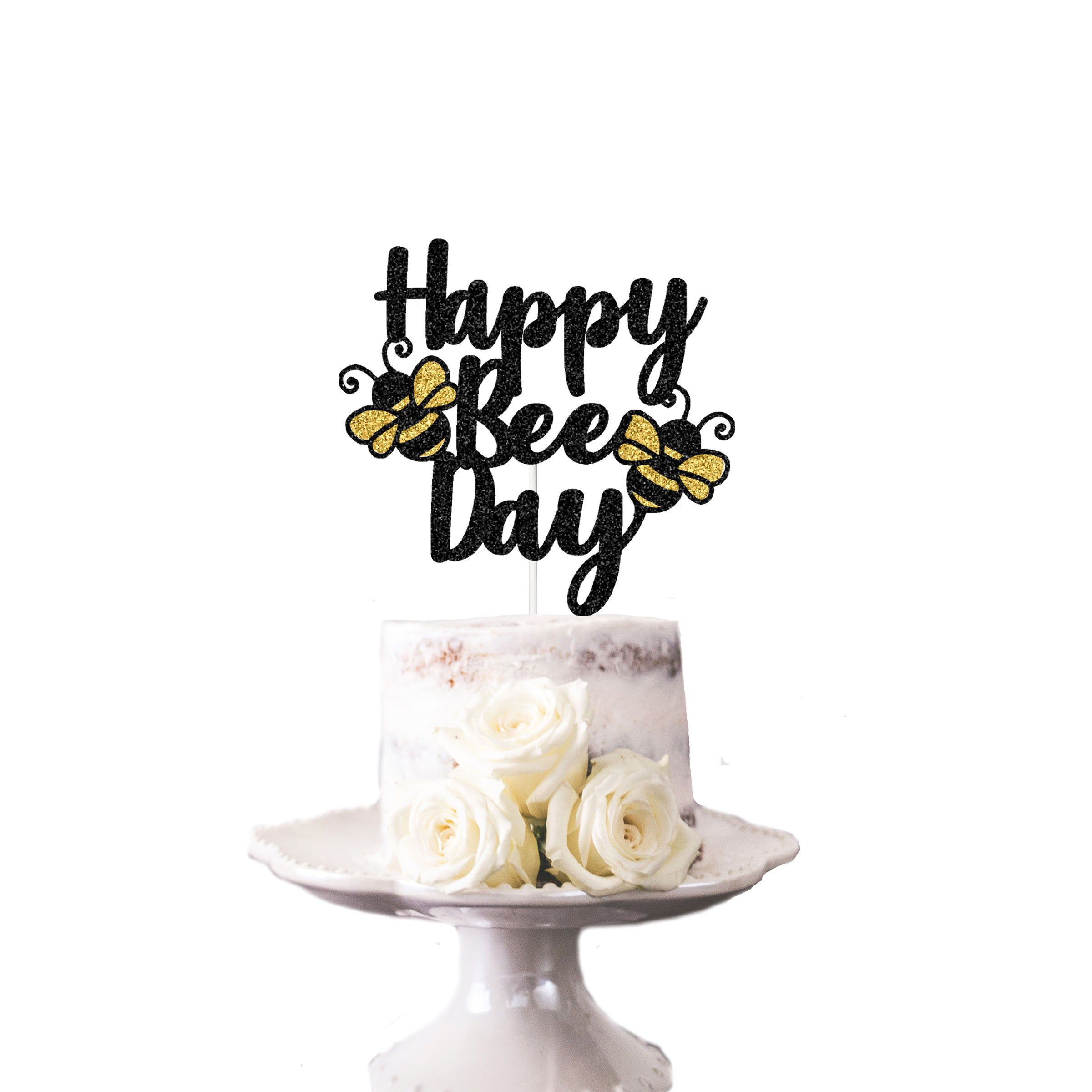 Laken Für Topper 1st Bee Day Cake Topper Happy Bee Cake Topper Bee Birthday | Etsy | Bee Birthday Party, Spring Birthday Party, Bee Birthday