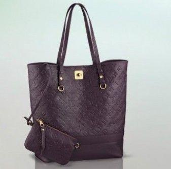 65b8c53ea Replica perfetta borsa Louis Vuitton Citadine aube viola.Borse Lv pari  originale, conciate con soffici pellami italiani.Spedizione sicura.
