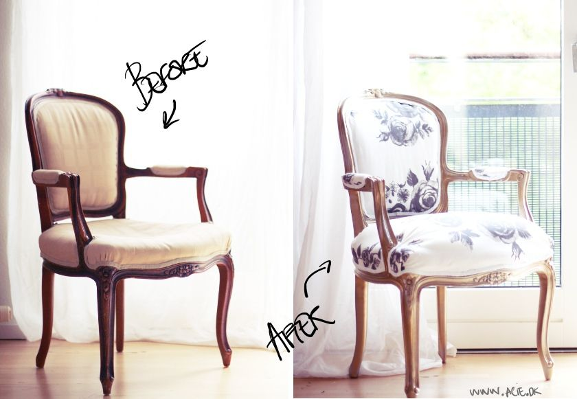 DIY restoration of an old antique chair.. I re-upholstered it, painted - DIY Restoration Of An Old Antique Chair.. I Re-upholstered It