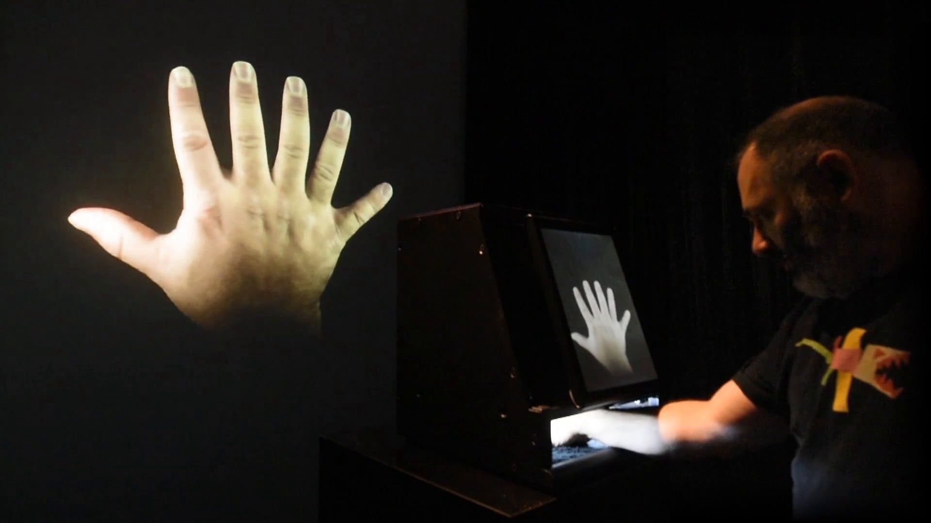 Augmented Hand Series (Demonstration, 2014)