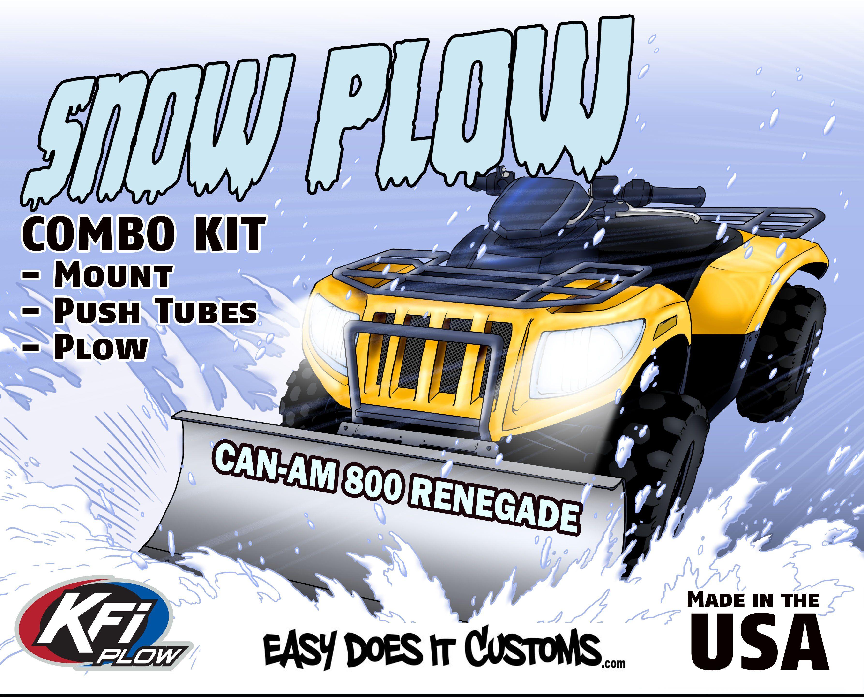 Renegade Plow Mount KFI 105445 Can-Am G2 Outlander
