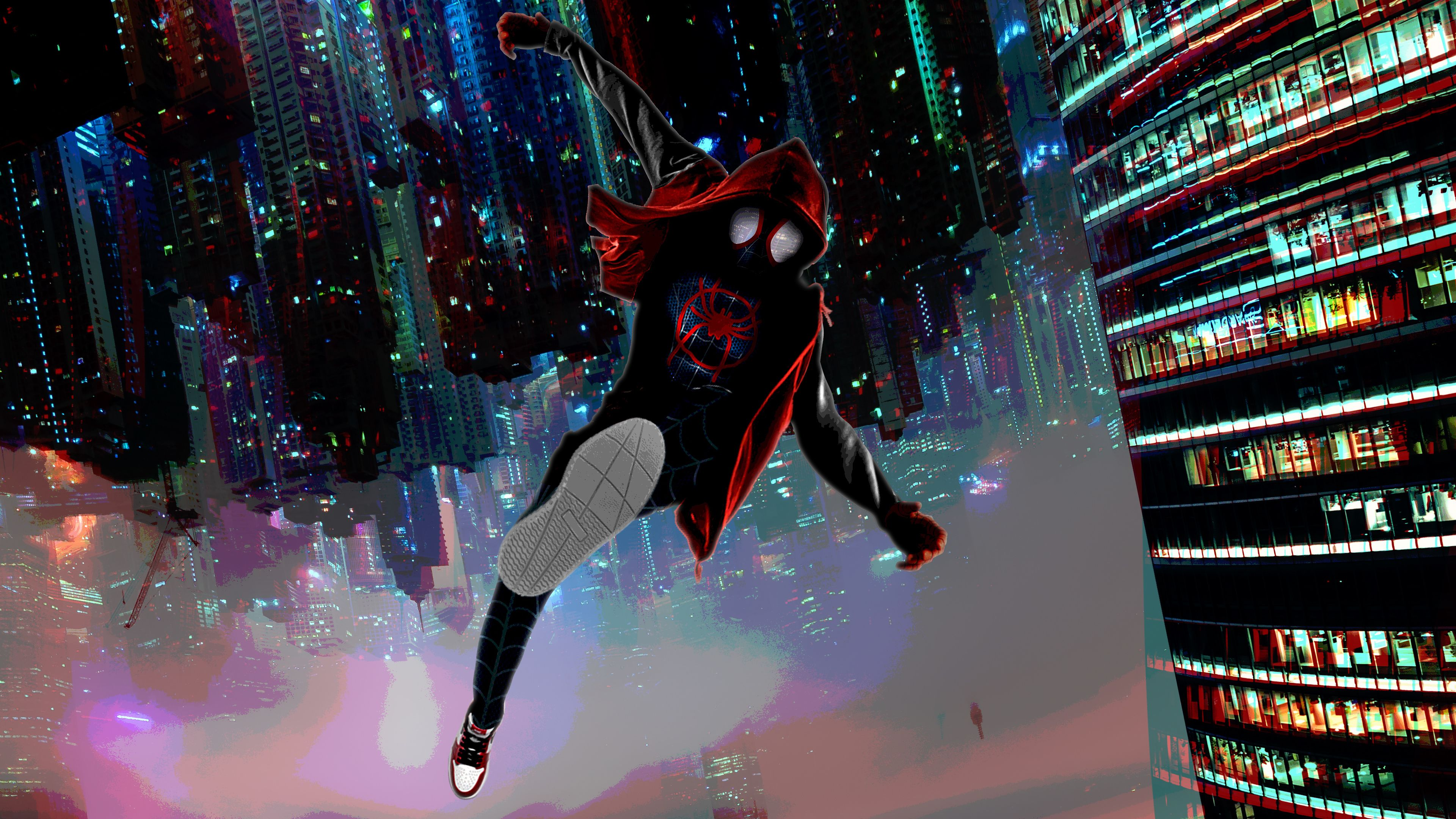 Wallpaper 4k Spiderman Miles Morales Arts 4k 4k Wallpapers Artist