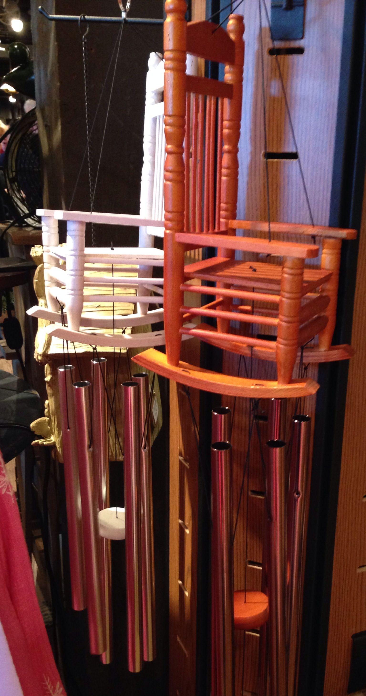 Rocking Chair Wind Chimes/Cracker Barrel Wind chimes