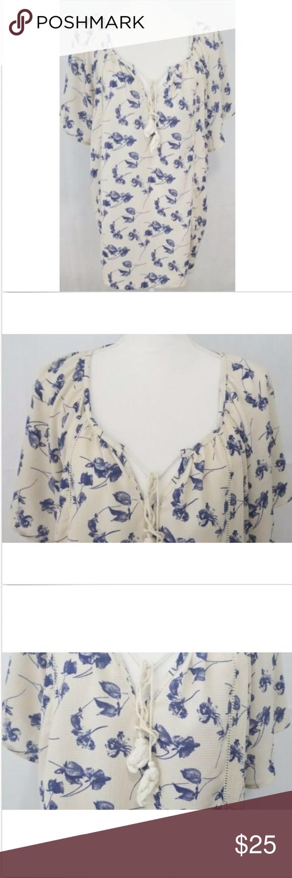 c76b42f367af14 Siren Lily Women's Top Plus 2X Shirt Casual Blouse Siren Lily Women's  blouse Plus Top Shirt