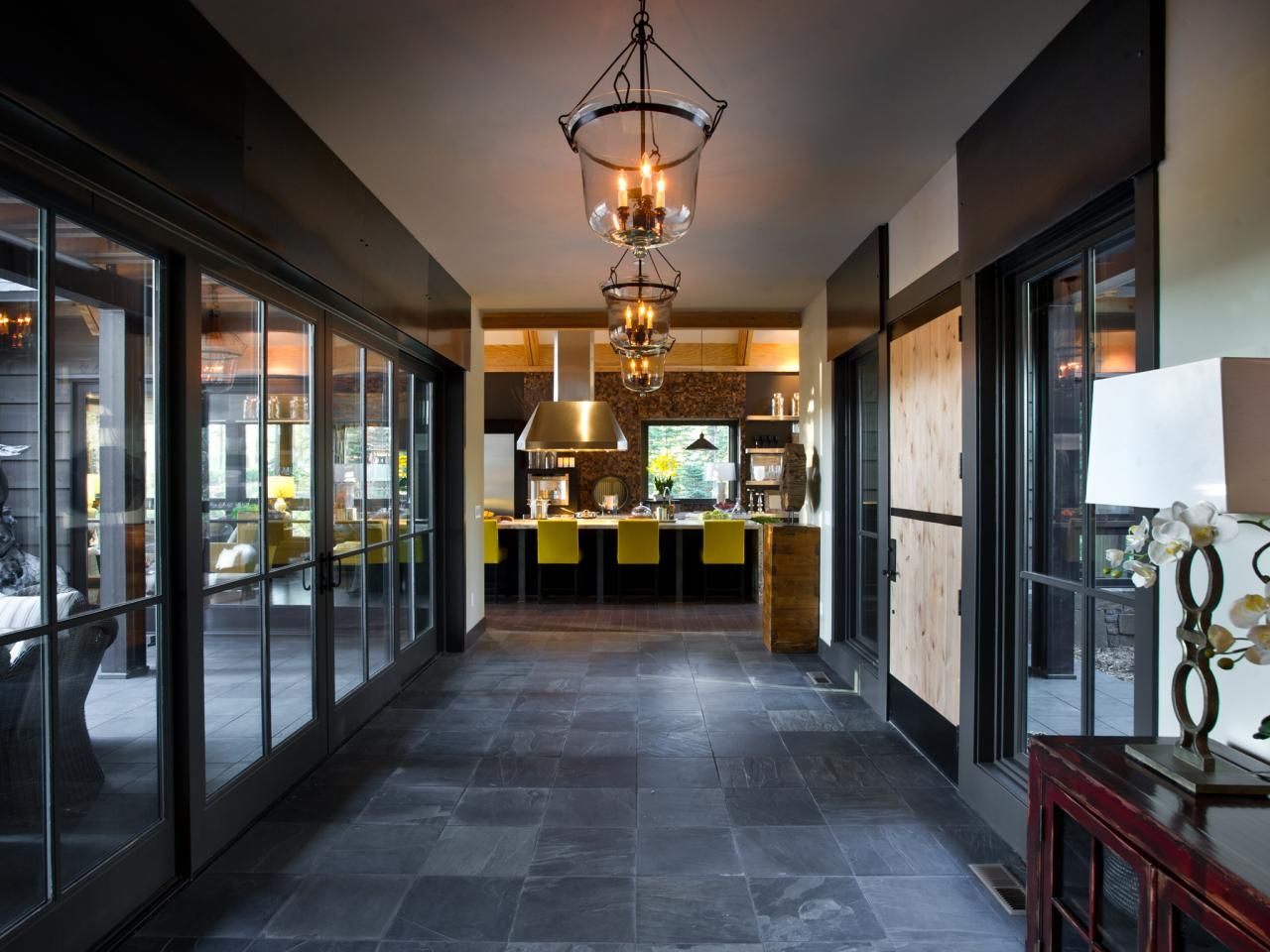 Foyer from hgtv dream home foyers glass boxes and hgtv