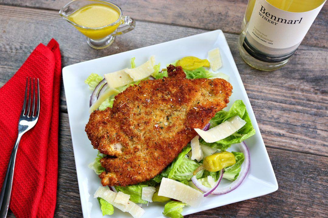 chicken cutlets, chicken milanese