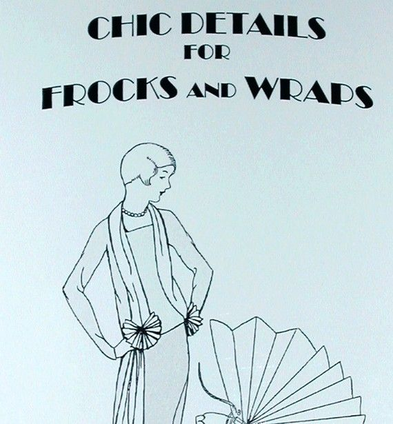 1920s Easy to Make Flapper Dresses Evening Wraps by RumbleSeatCat, $12.95