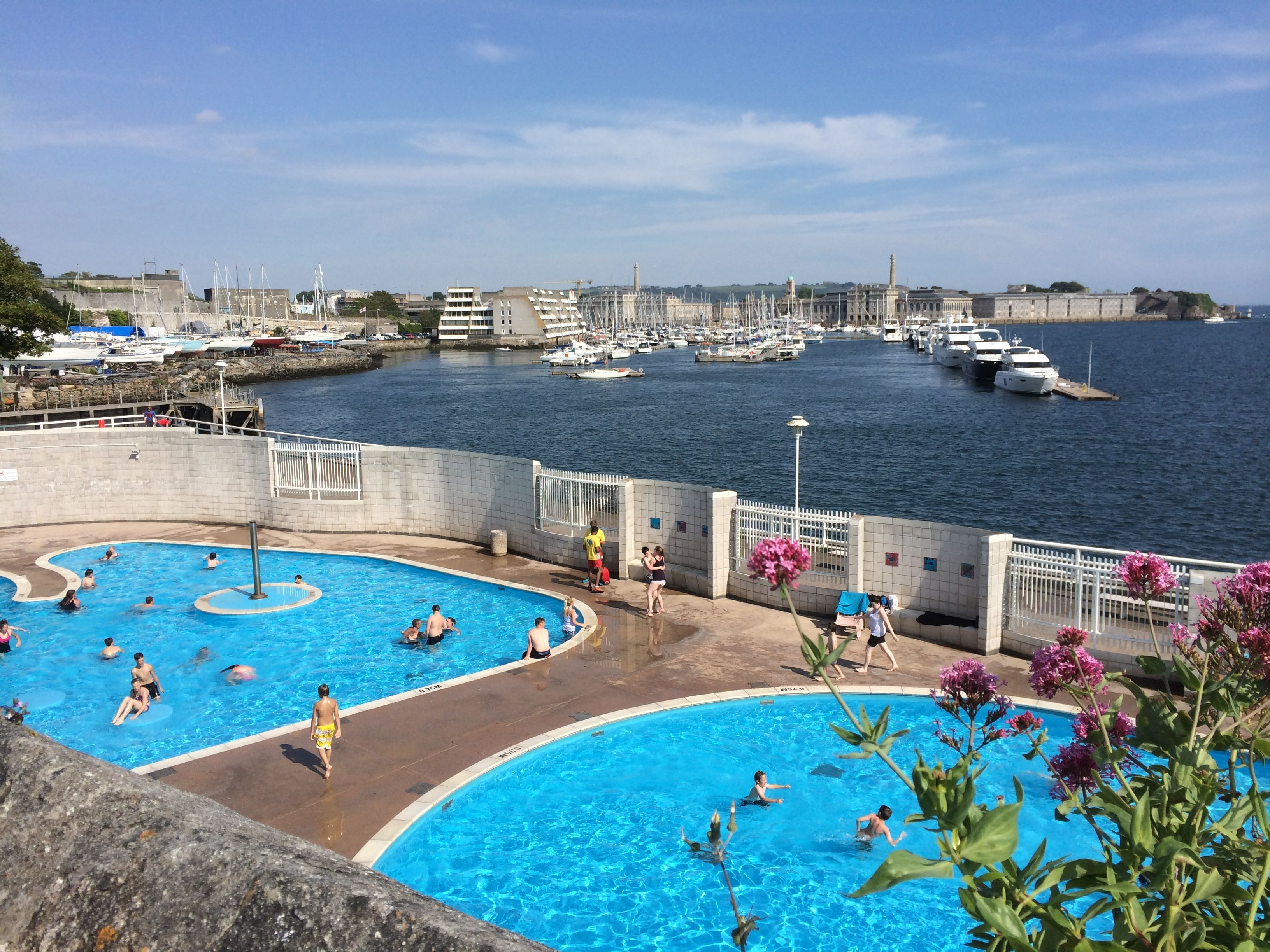 Mount wise outdoor pools moutwise plymouth outdoorswimmingpools for Outdoor swimming pools in england