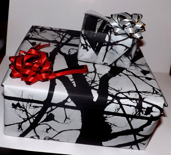 40x30 black and white eligant wrapping paper. Very by Crucify, $15.00