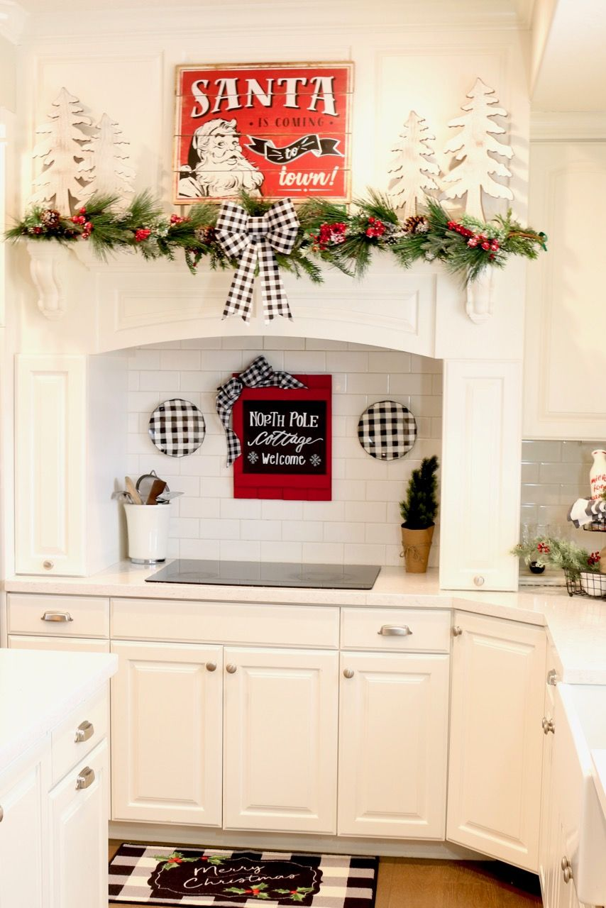 Decorating The Kitchen For The Holidays Decor Design My Kitchen