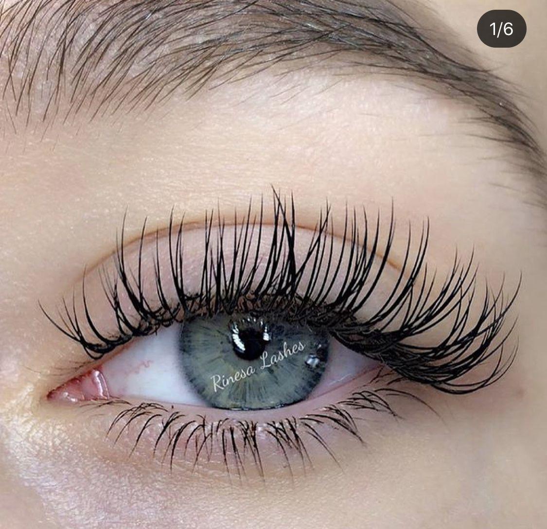 Lash Extensions in 2020 Eyelash extentions, Eyelash