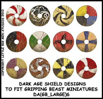DA(GB_LARGE)6 Designs for Dark Age Large Round Six (12) | Dark Ages