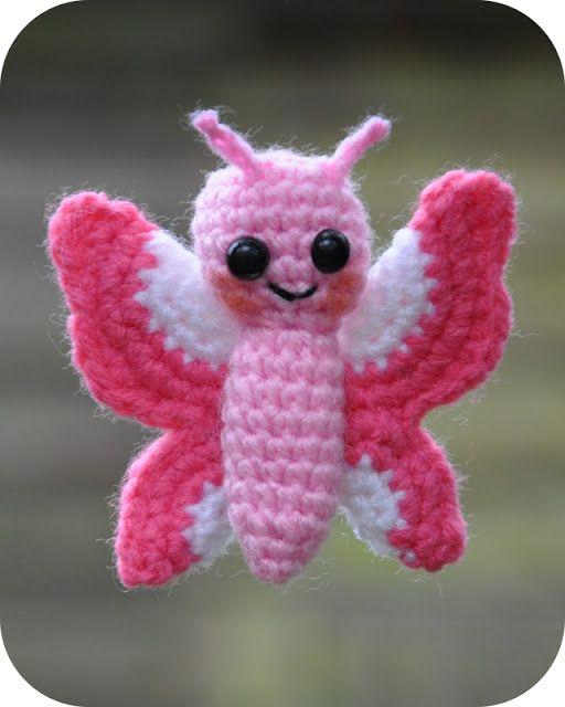 Grietjekarwietje Amigurumi Crochet Pattern Flo The Butterfly
