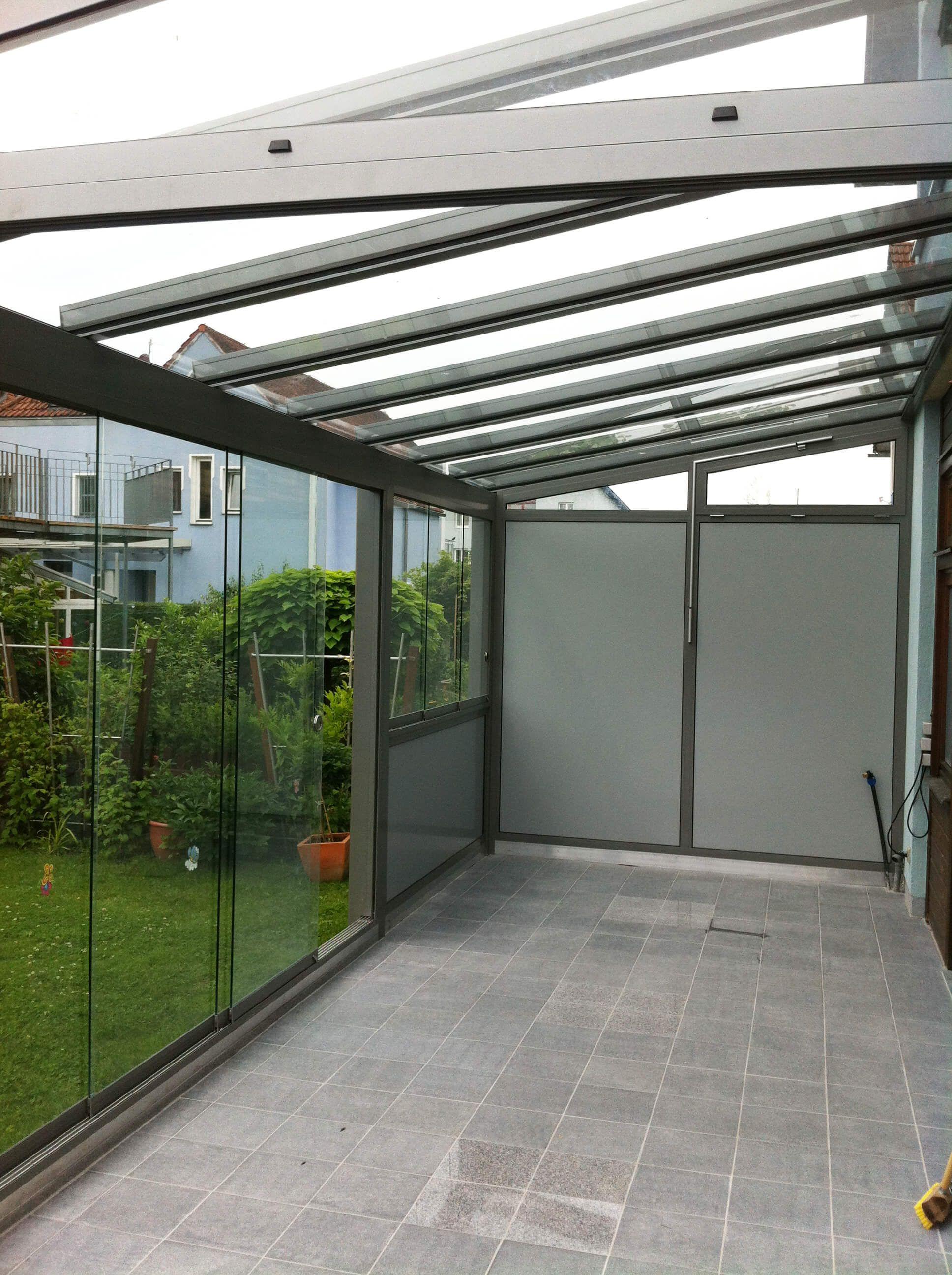 Wintergarten Falt Und Schiebeelemente Rooftop Design Pergola