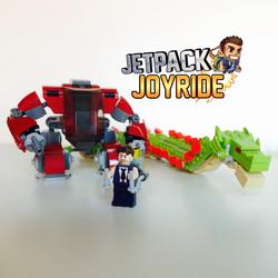 Jetpack Joyride Creaciones De Lego Cuadros Star Wars La Creacion