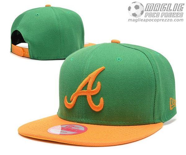 maglie basket nba poco prezzo  Cappelli rap MLB Atlanta Braves New Era  Snapback d0a8c2b264e3