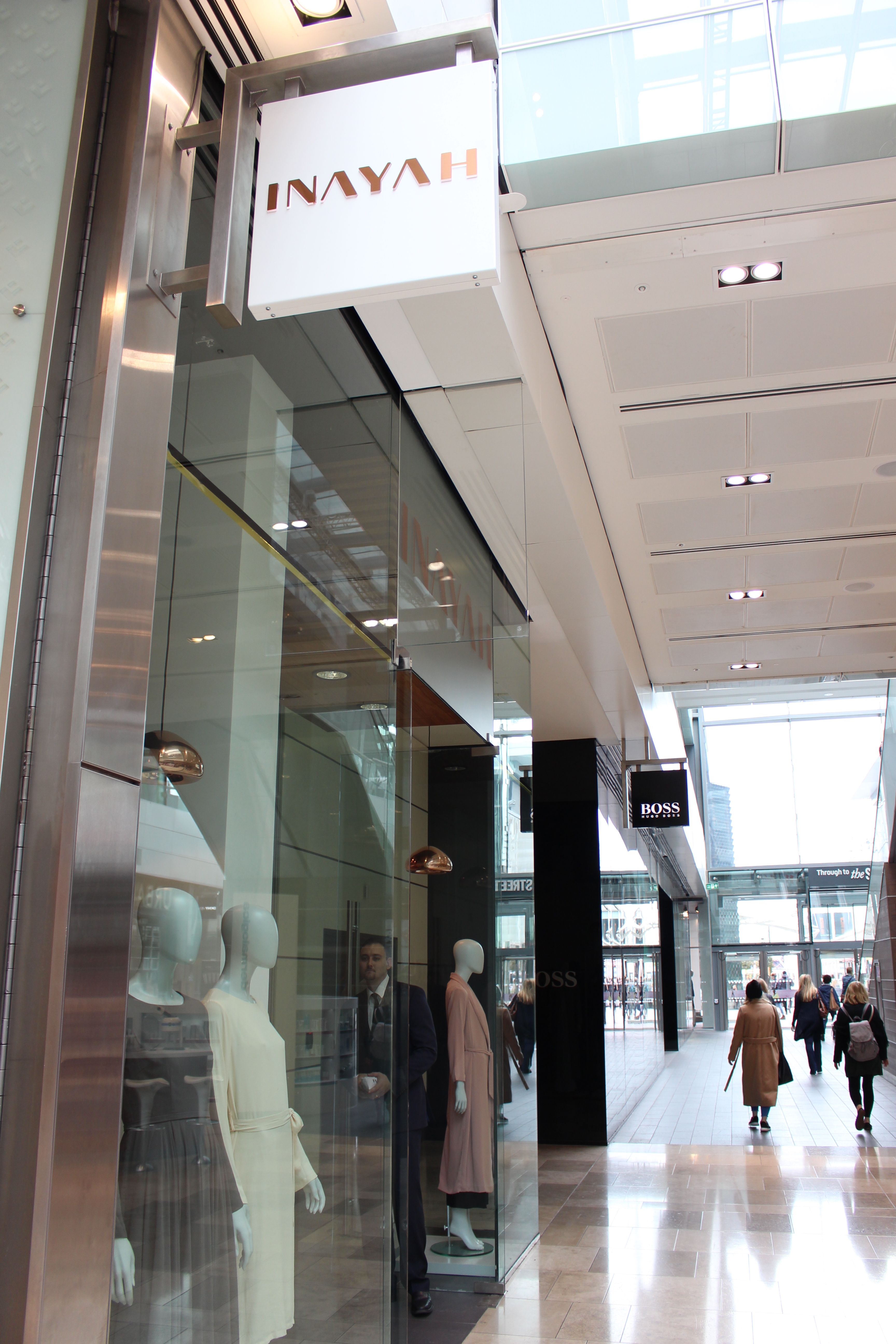8a65b2e613559 INAYAH | We are located on the Ground Floor of Westfield, Stratford City,  adjacent to Lacoste & Hugo Boss and opposite MAC Cosmetics. Come and find  us!