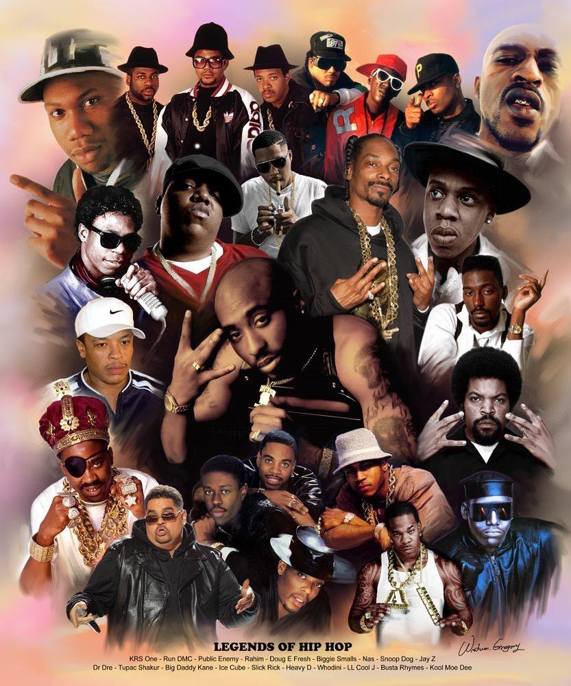 Legends Of Hip Hop Hip hop art, Hip hop, Rapper art