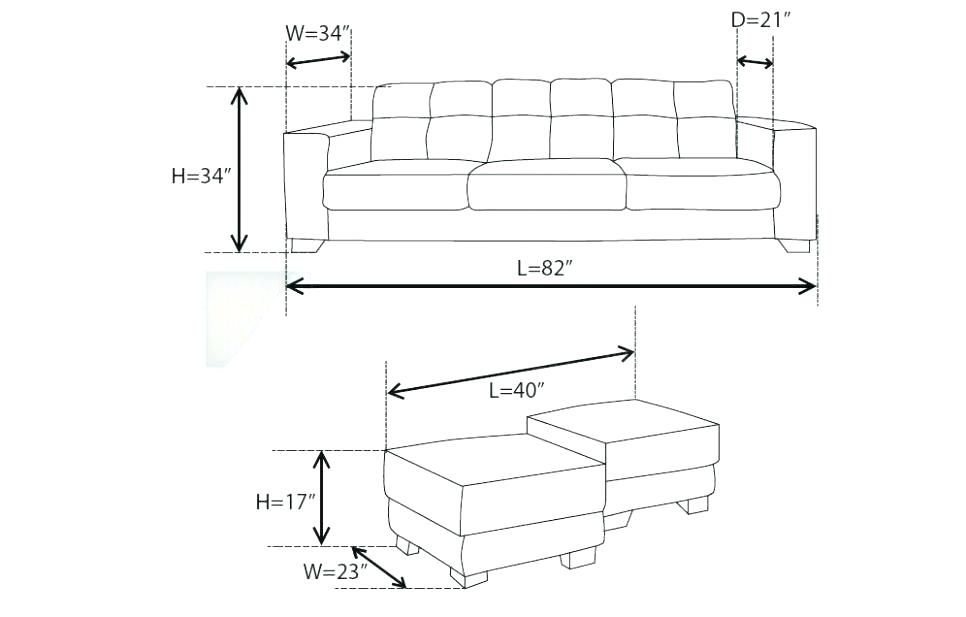 Average Couch Size Sofa Inspiration Couch Set Contemporary Sofa