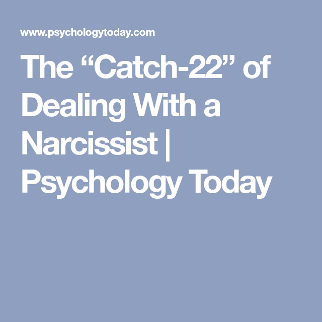 Psychology today narcissistic personality disorder