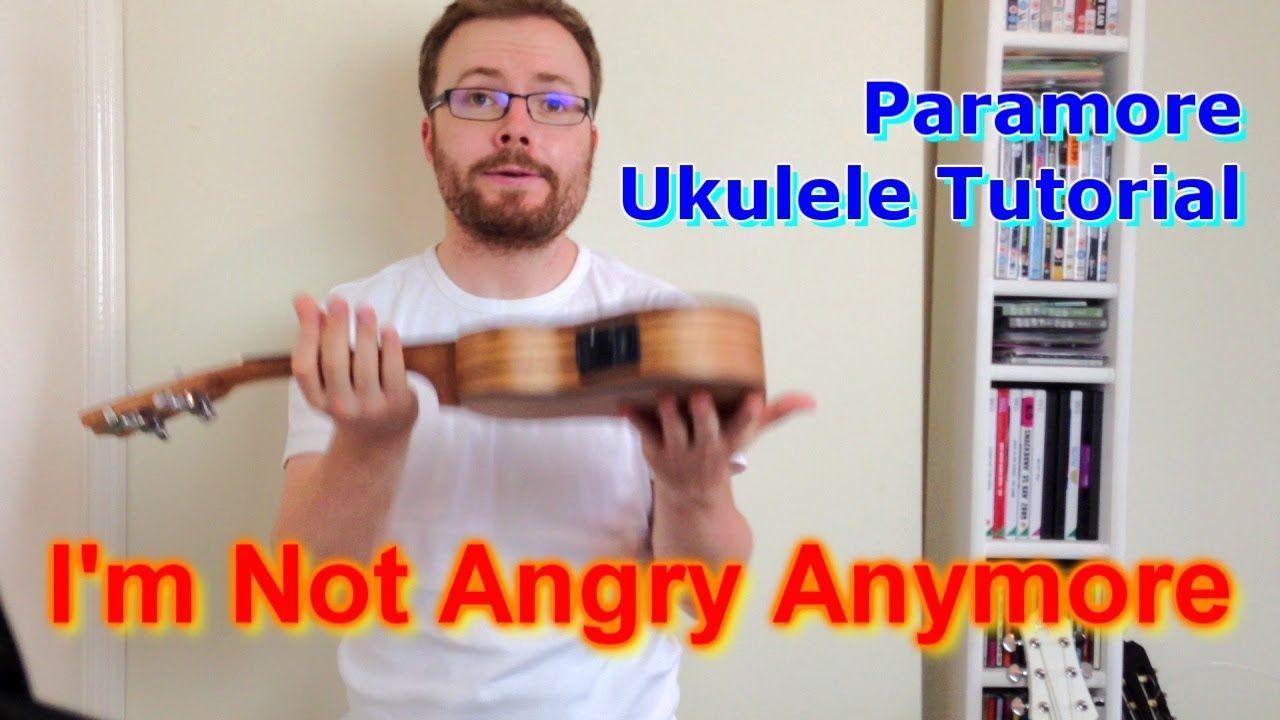 Paramore Interlude - I'm Not Angry Anymore (Ukulele Tutorial