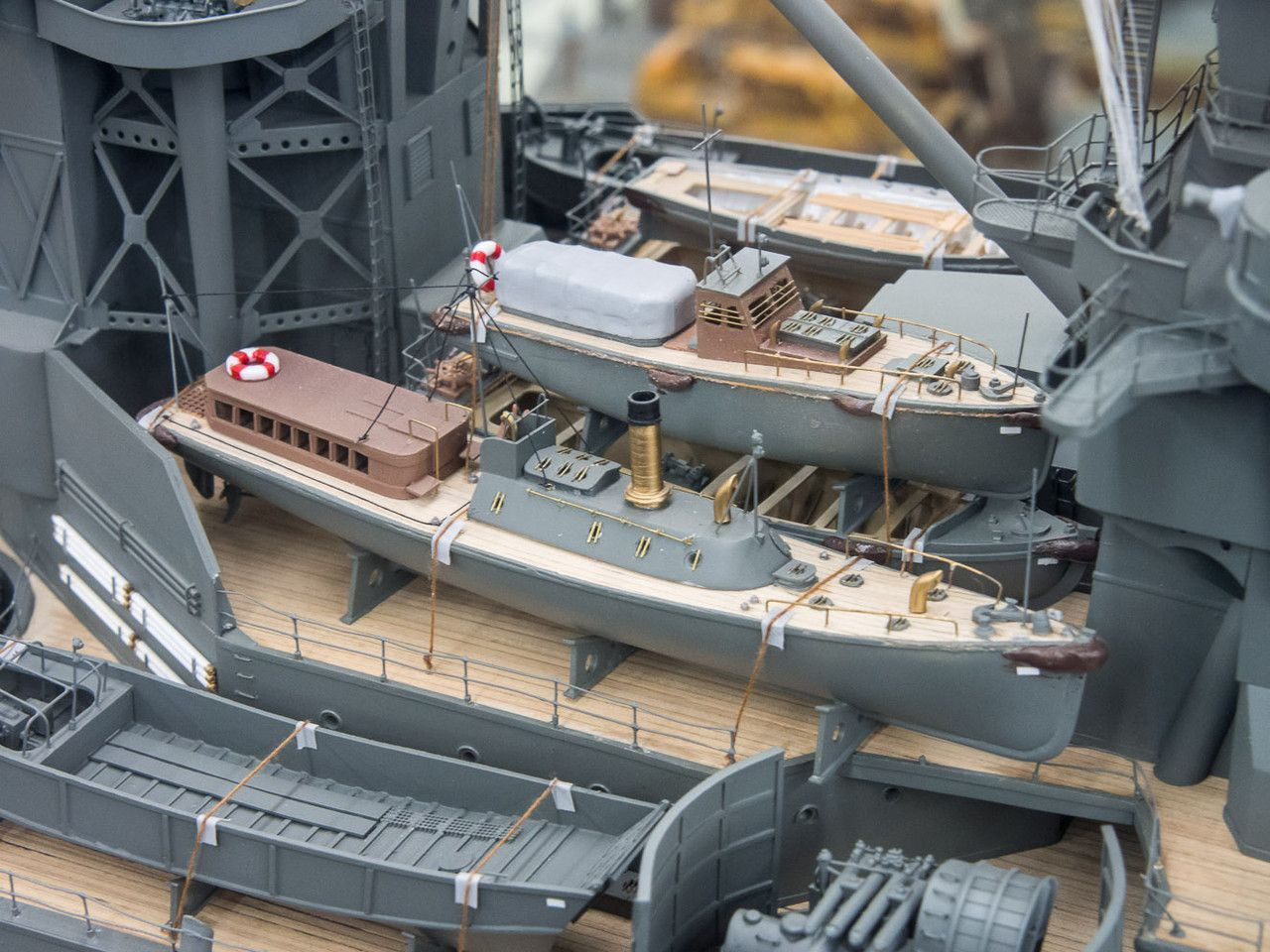 Aircraft carrier models large scale - Ijn Battleship Carrier Ise 1 100 Scale Model In Museum Quality Finish
