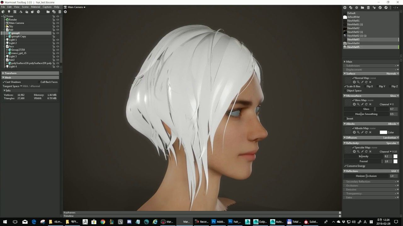 Substance Hair Texture Tutorial 3d Pinterest Tutorials ZBrush