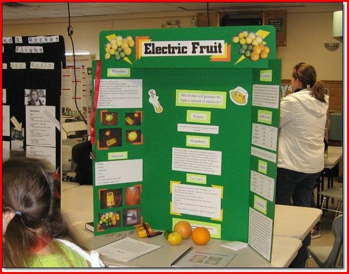 Electricity Science Fair Projects Ideas For Science Project - science project report