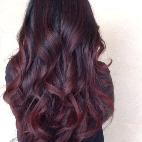 25 best hairstyle ideas for brown hair with highlights dark red 25 best hairstyle ideas for brown hair with highlights pmusecretfo Choice Image