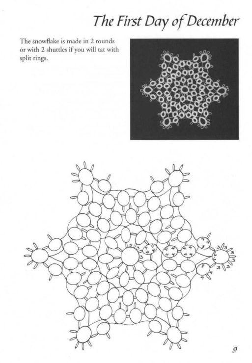 Schemi a chiacchierino-stelle di ghiaccio (7) | Chiaccherino ...