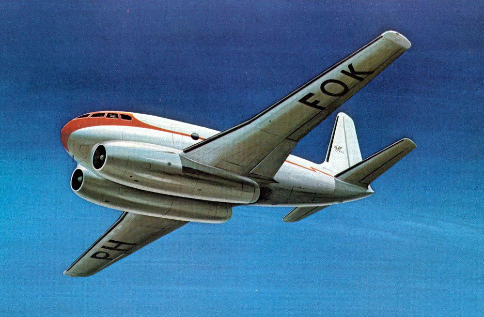 Fokker F26 Concept In 2020 Aircraft Aircraft Design Passenger Aircraft