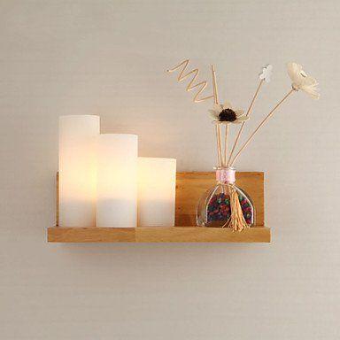 kurze glas wandleuchte bed lighting schlafzimmer massiv holz wandleuchte mit schalter kommode spiegel licht bad