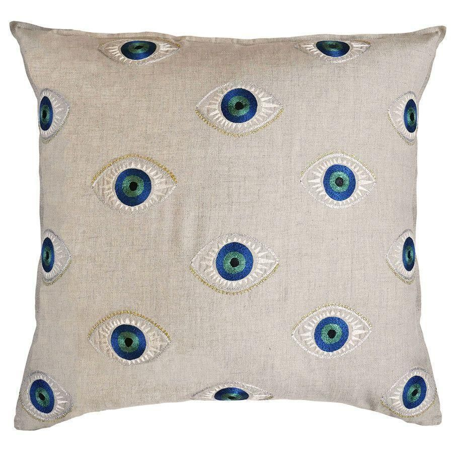 Evil Eye Pillow - Pillow Cover with Insert
