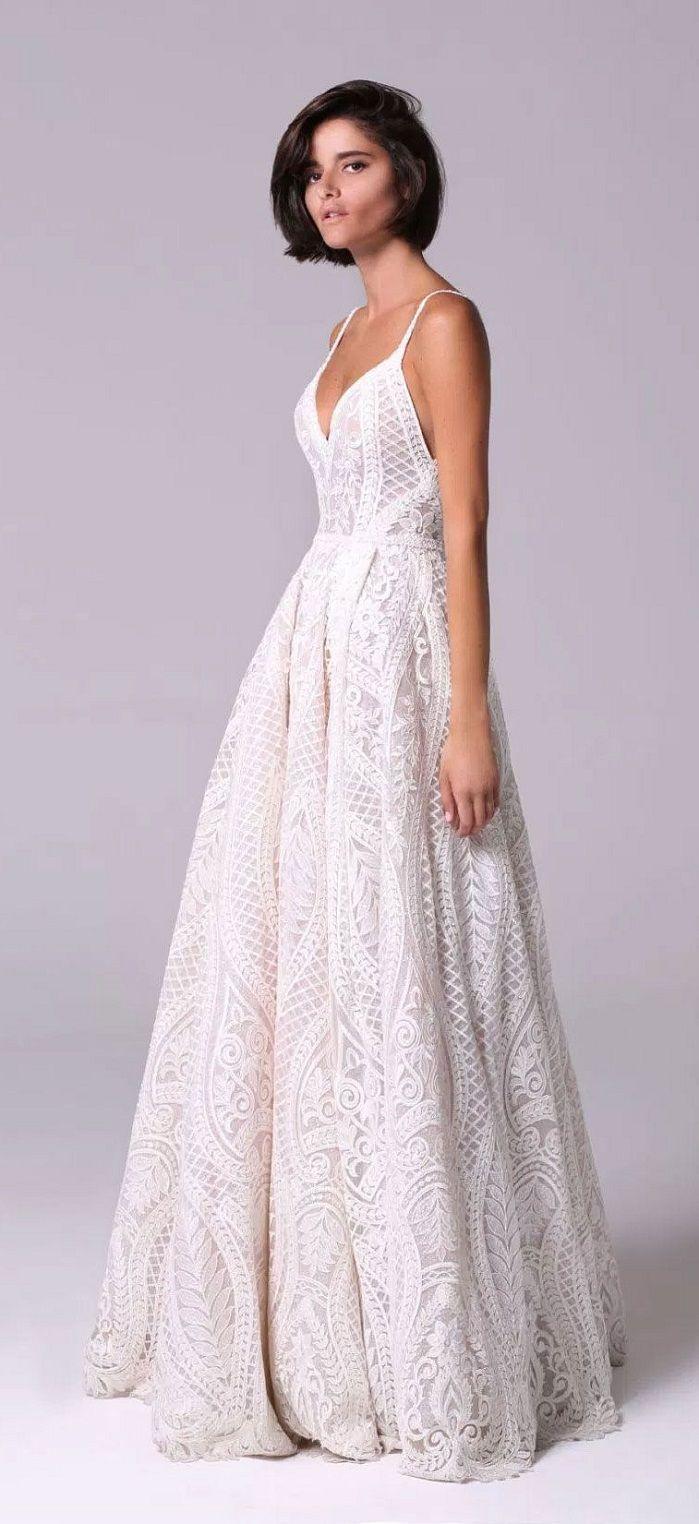 Michal Medina 2018 Wedding Dresses #hochzeitskleiderhäkeln