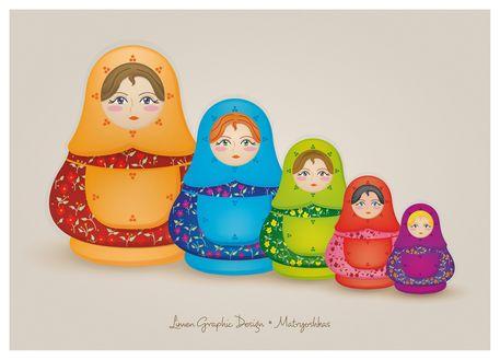 Matryoshka, una muñeca llena de tradición y simbolismo.