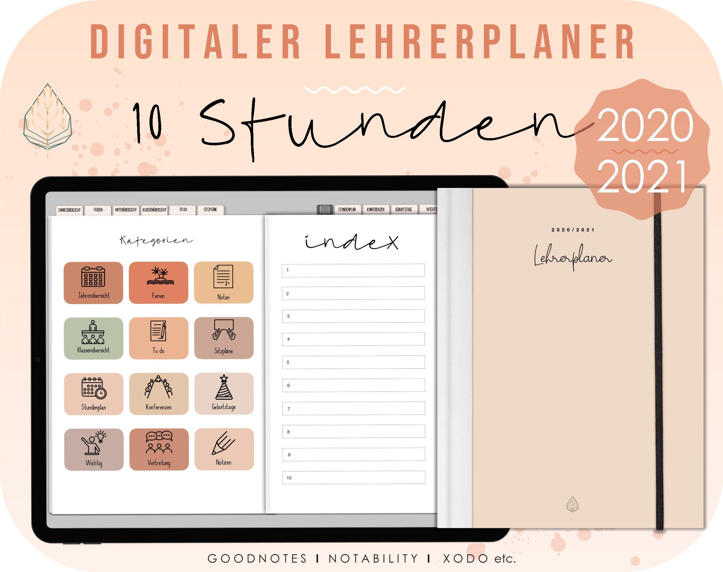 Pin auf Digitaler Lehrerkalender