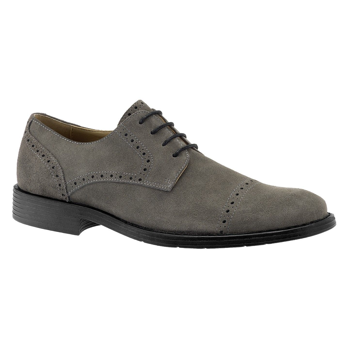 Hush Puppies Grey Burnished Suede Bygone Best shoes